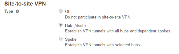 Meraki Auto-VPN over MPLS